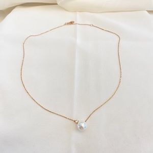J.Estina Pearl Jewel Necklace 925 Jewelry